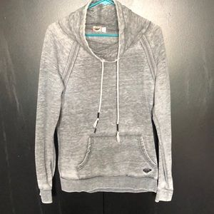 Distressed Roxy pull over